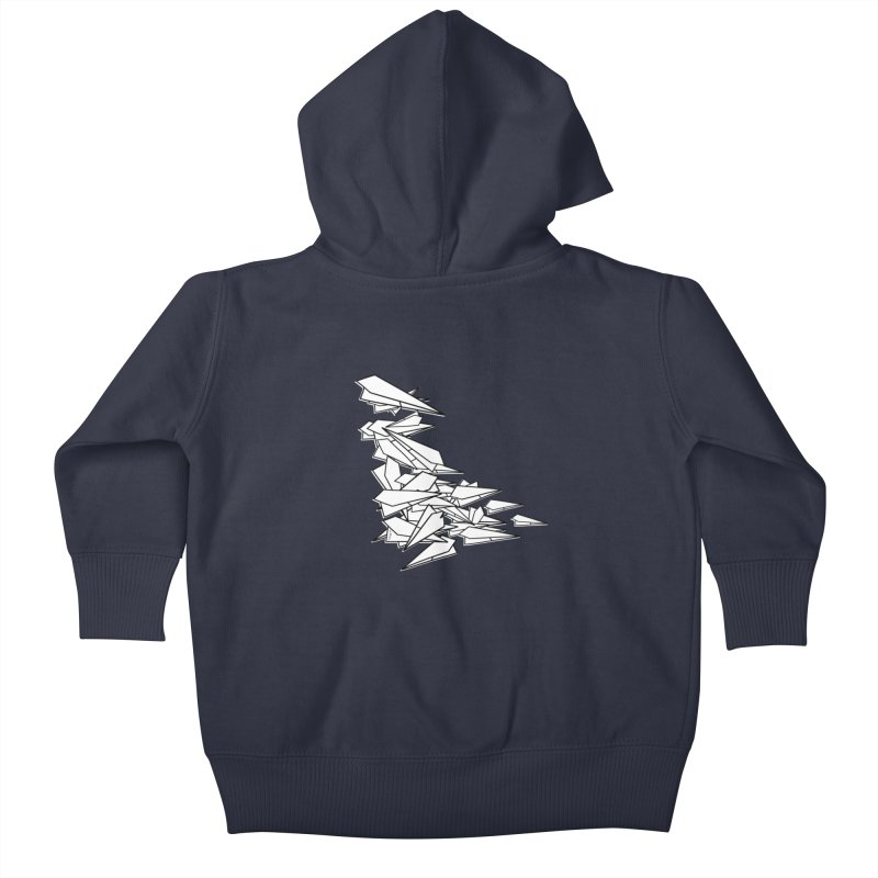 Paper Planes by Sardine Kids Baby Zip-Up Hoody by Sardine
