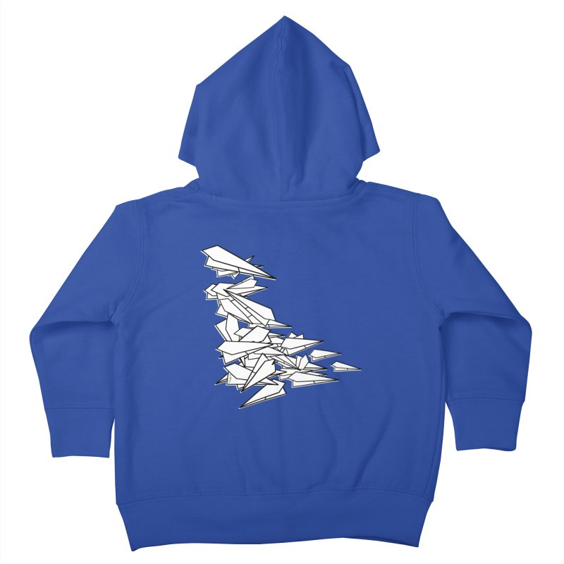 Paper Planes by Sardine Kids Toddler Zip-Up Hoody by Sardine