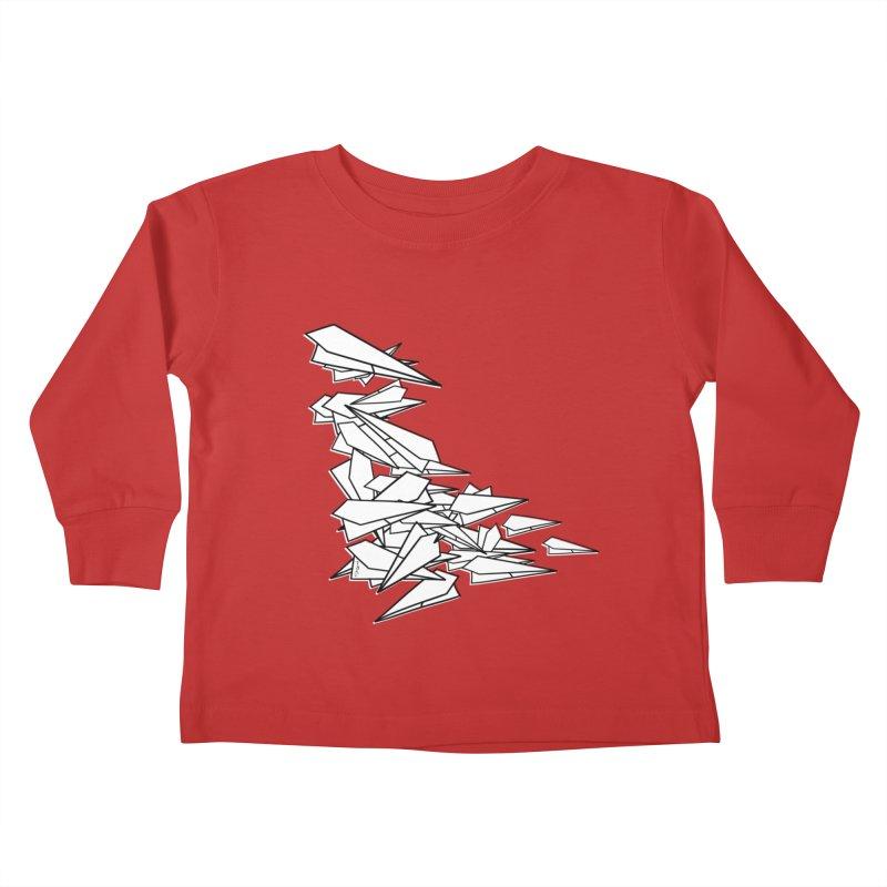 Paper Planes by Sardine Kids Toddler Longsleeve T-Shirt by Sardine