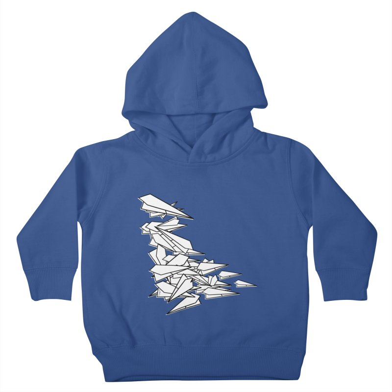 Paper Planes by Sardine Kids Toddler Pullover Hoody by Sardine