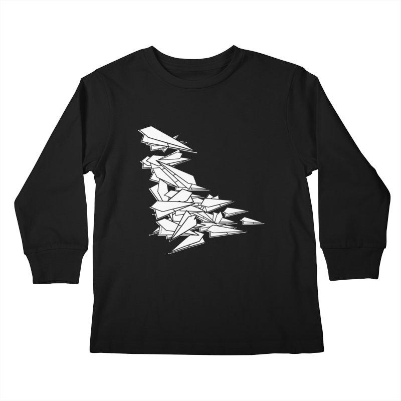 Paper Planes by Sardine Kids Longsleeve T-Shirt by Sardine