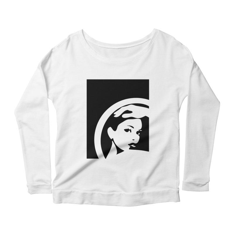 Beauty Portrait Women's Scoop Neck Longsleeve T-Shirt by Sasha Mirov's Artist Shop