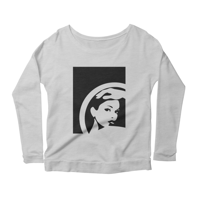 Beauty Portrait Women's Scoop Neck Longsleeve T-Shirt by Sasha Mirov's Artist Shop