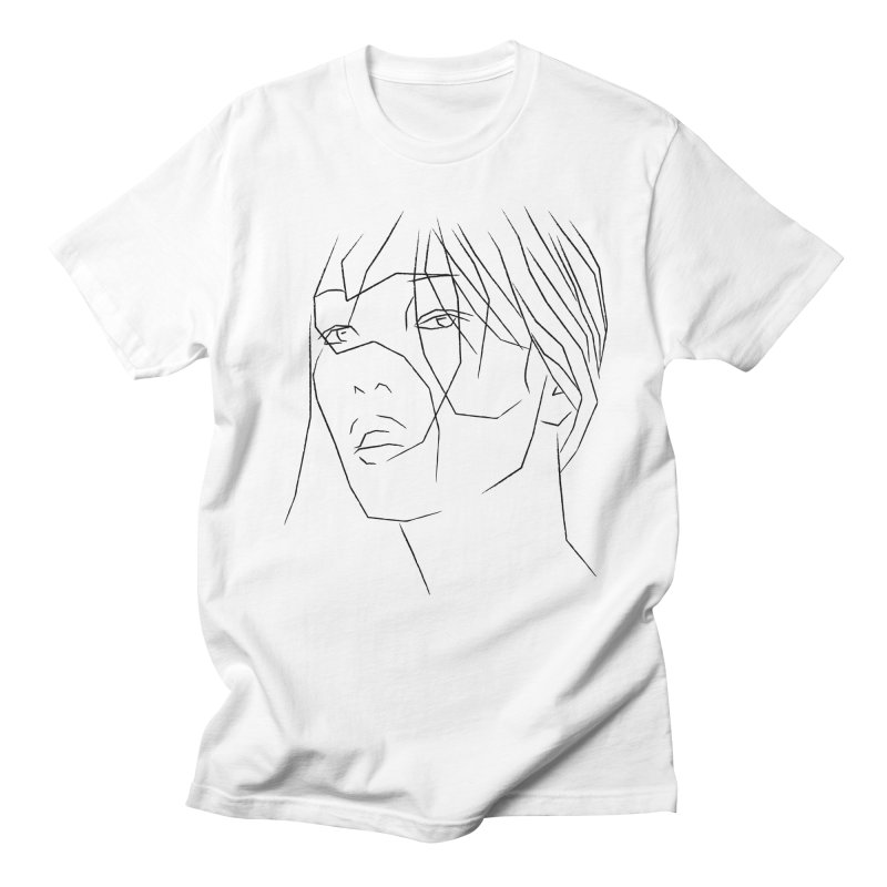 ASIAN GIRL Men's Regular T-Shirt by Sasha Mirov's Artist Shop