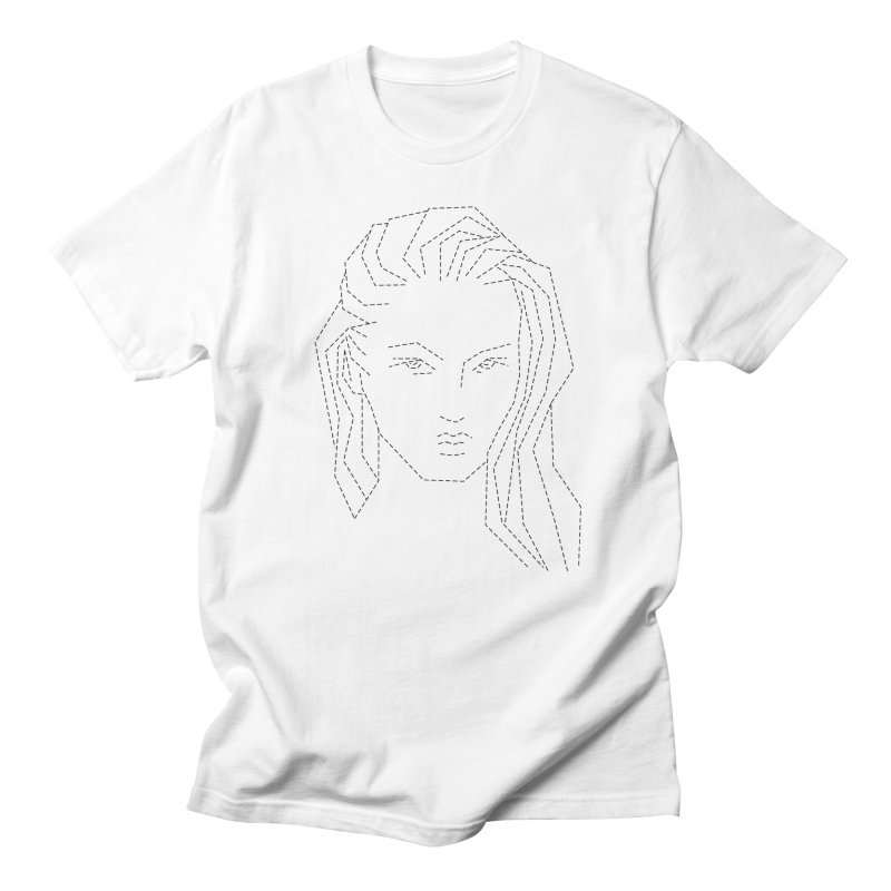 DASHED SKETCH Men's T-Shirt by Sasha Mirov's Artist Shop