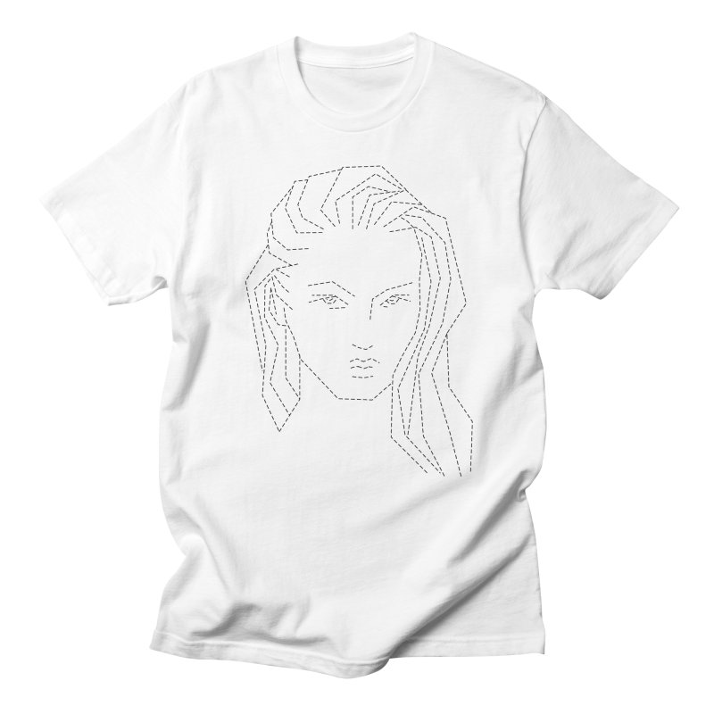 DASHED SKETCH Women's Regular Unisex T-Shirt by Sasha Mirov's Artist Shop