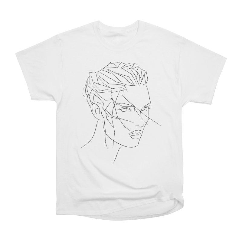 ICE HAIR Men's Heavyweight T-Shirt by Sasha Mirov's Artist Shop