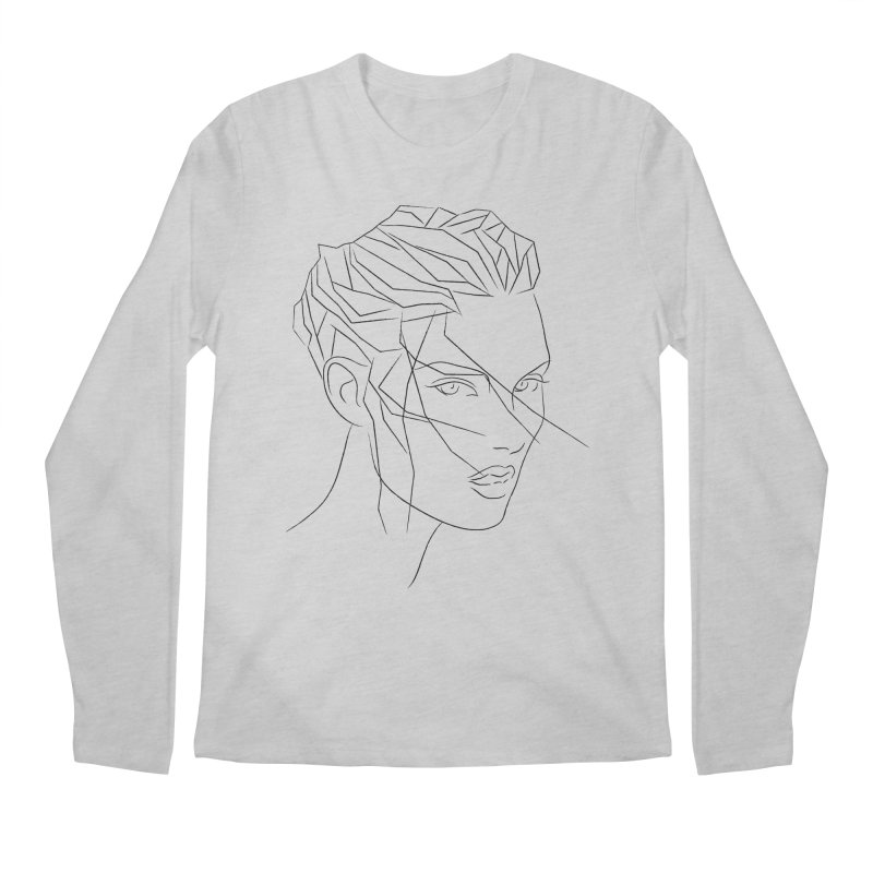 ICE HAIR Men's Regular Longsleeve T-Shirt by Sasha Mirov's Artist Shop