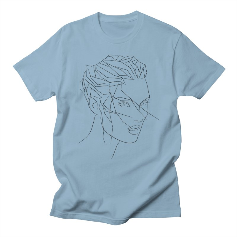 ICE HAIR Women's Unisex T-Shirt by Sasha Mirov's Artist Shop