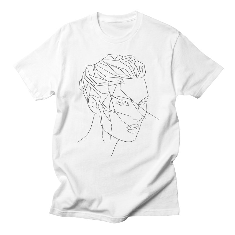 ICE HAIR Women's Regular Unisex T-Shirt by Sasha Mirov's Artist Shop