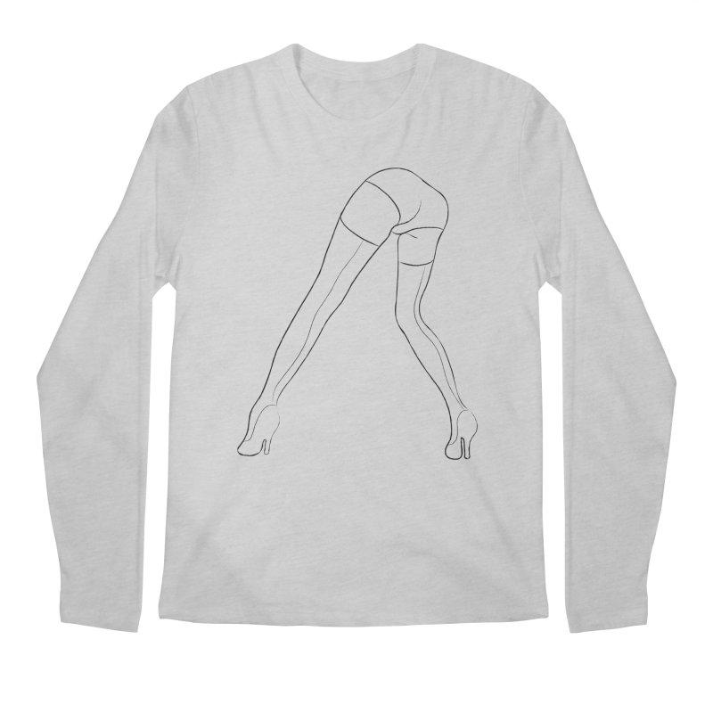 LEGS Men's Longsleeve T-Shirt by Sasha Mirov's Artist Shop