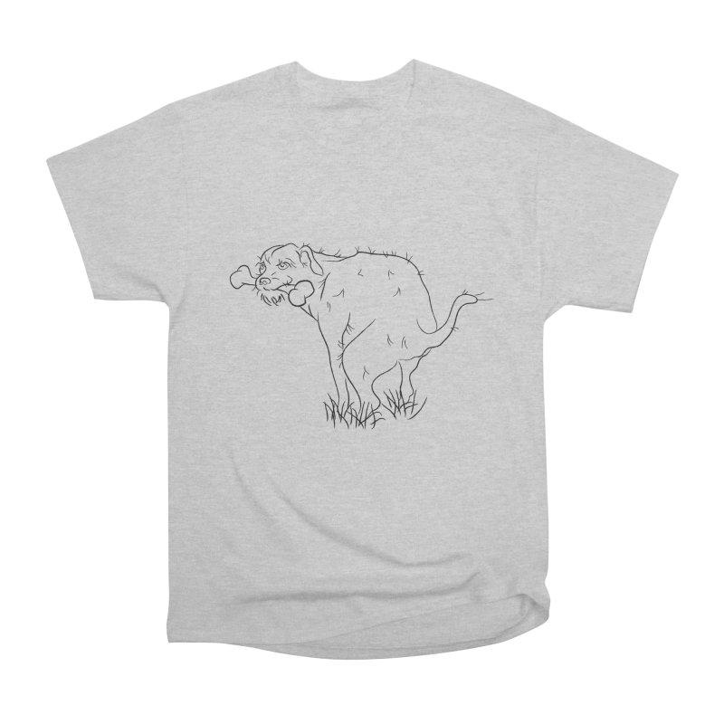 OLD TRICKS Men's Heavyweight T-Shirt by Sasha Mirov's Artist Shop