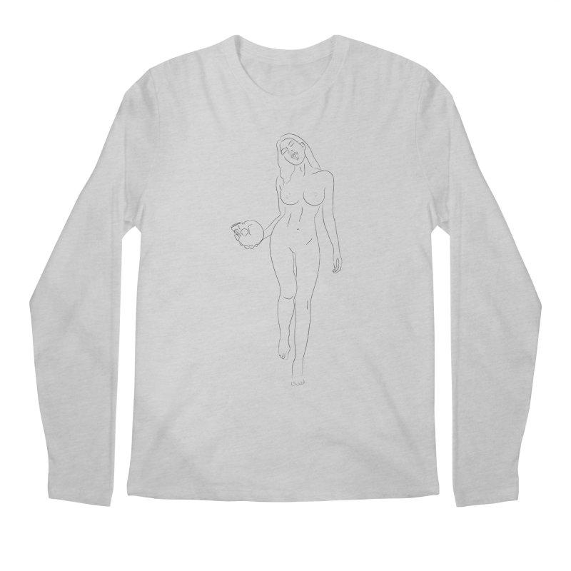 The Marry Witch Men's Regular Longsleeve T-Shirt by Sasha Mirov's Artist Shop