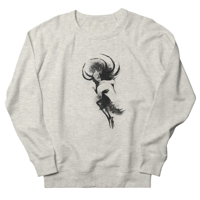 Hel Women's French Terry Sweatshirt by Sash-kash Artist Shop