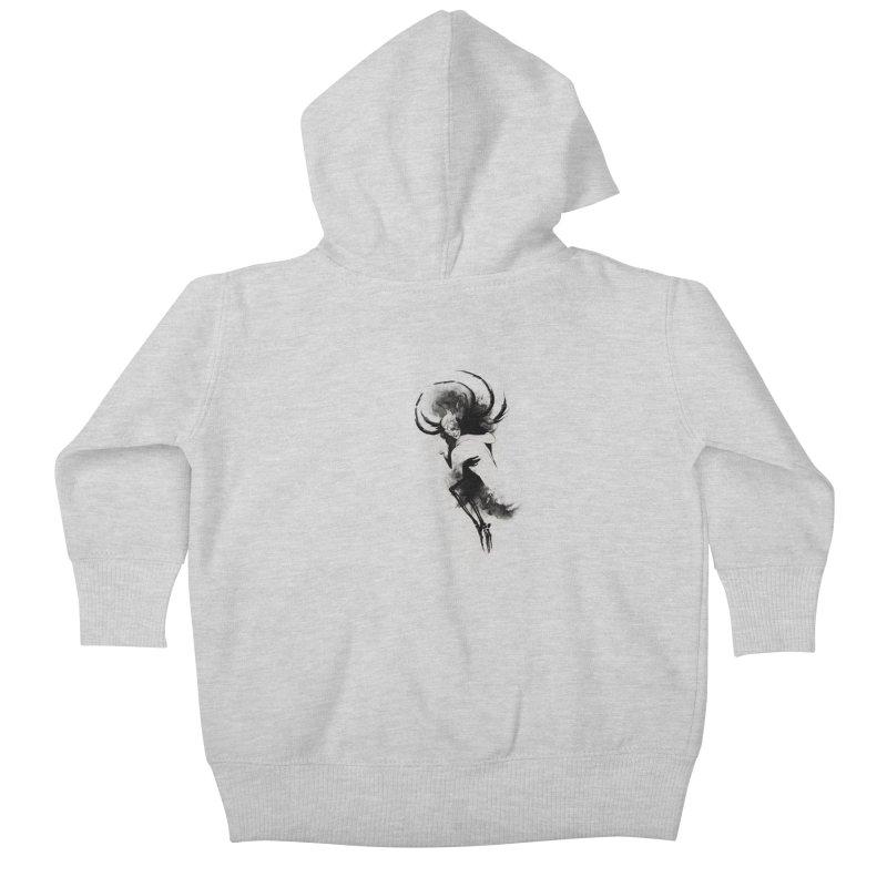 Hel Kids Baby Zip-Up Hoody by Sash-kash Artist Shop