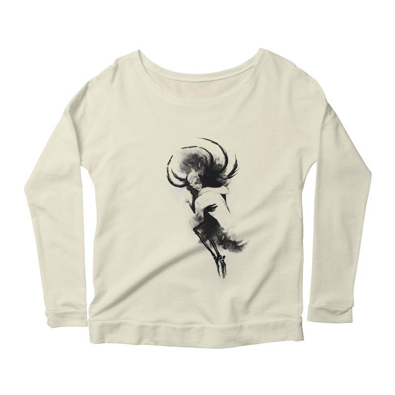 Hel Women's Scoop Neck Longsleeve T-Shirt by Sash-kash Artist Shop