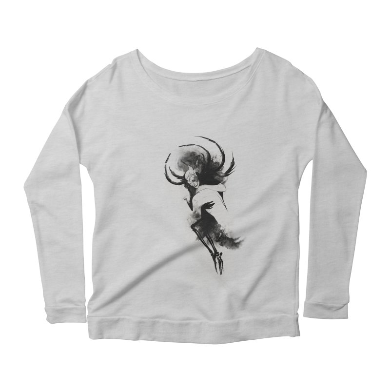 Hel Women's Scoop Neck Longsleeve T-Shirt by Sash-kash Artist Shop