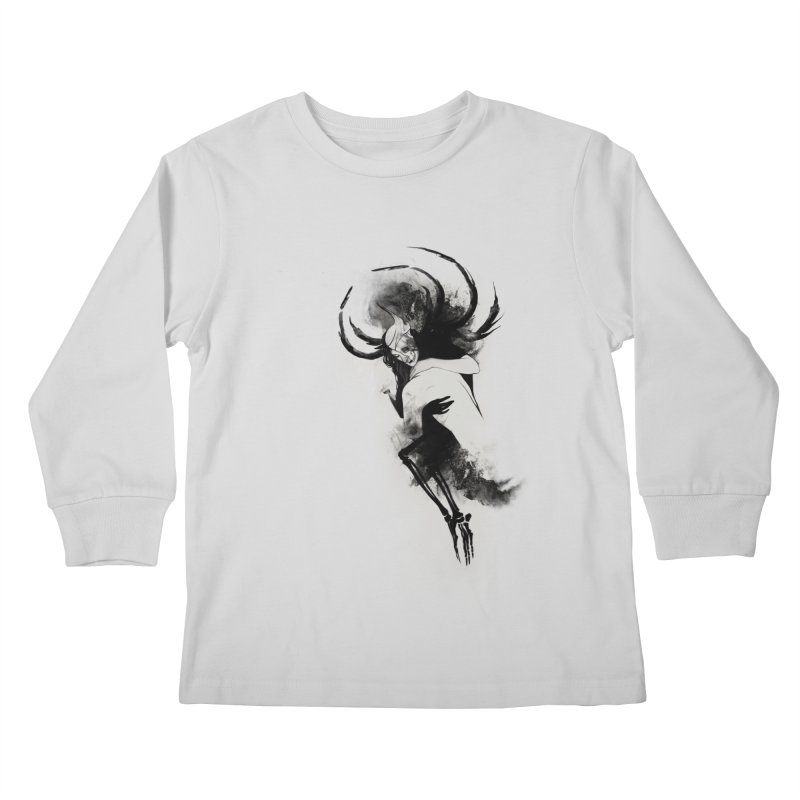 Hel Kids Longsleeve T-Shirt by Sash-kash Artist Shop