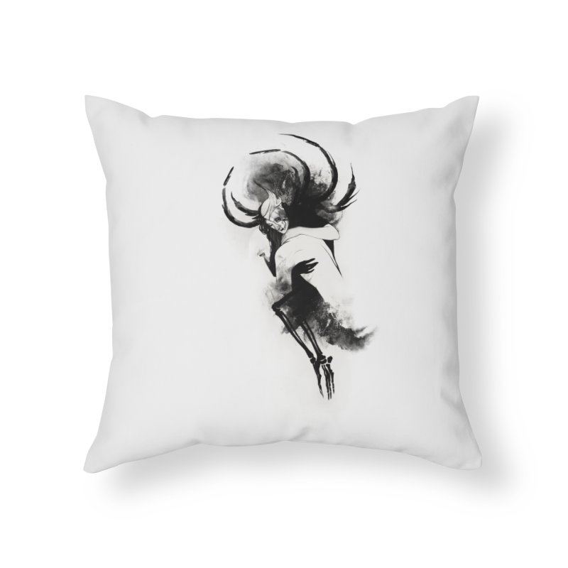 Hel Home Throw Pillow by Sash-kash Artist Shop