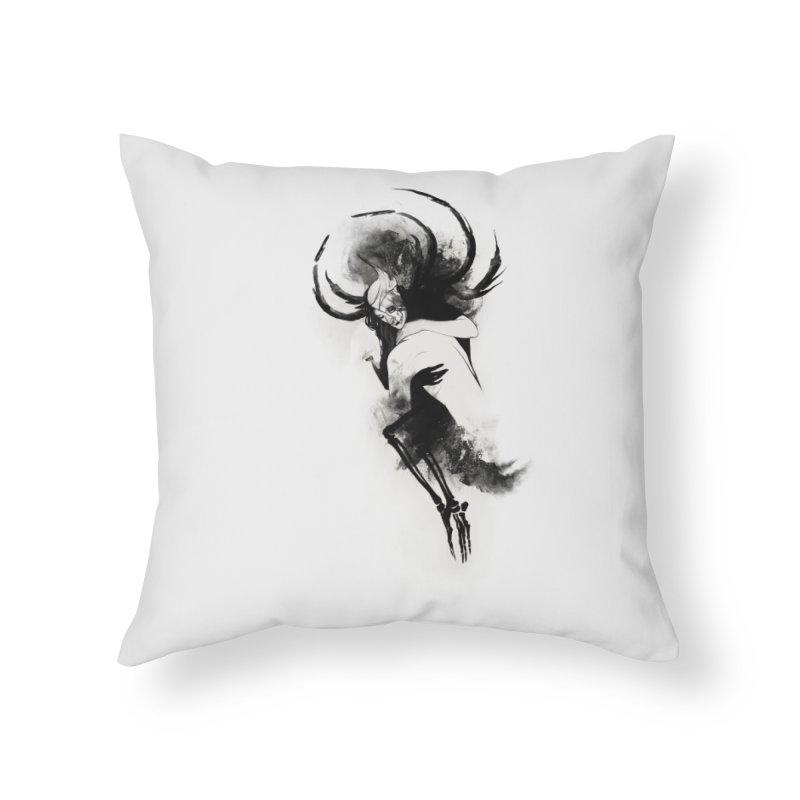 Hel Home Throw Pillow by Sash-kash Artist Shop
