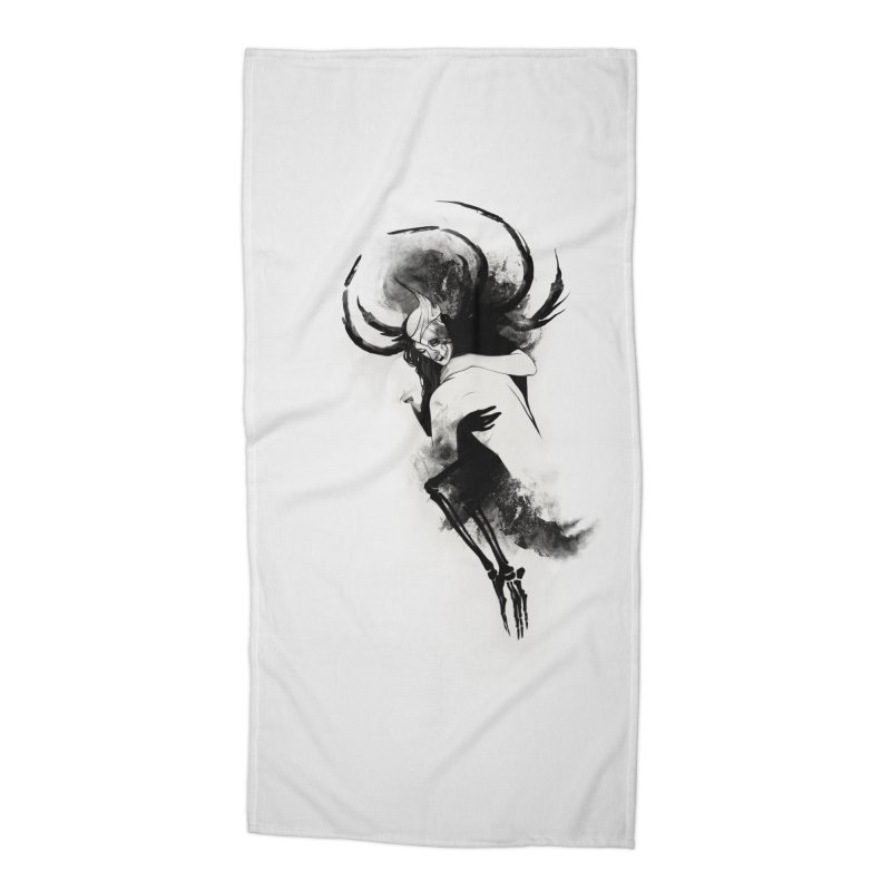 Hel Accessories Beach Towel by Sash-kash Artist Shop