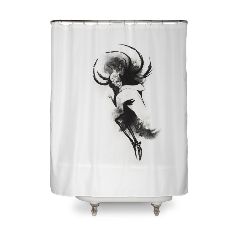Hel Home Shower Curtain by Sash-kash Artist Shop