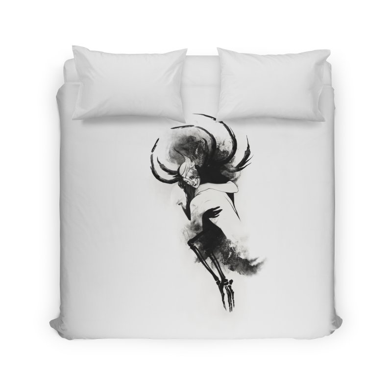 Hel Home Duvet by Sash-kash Artist Shop