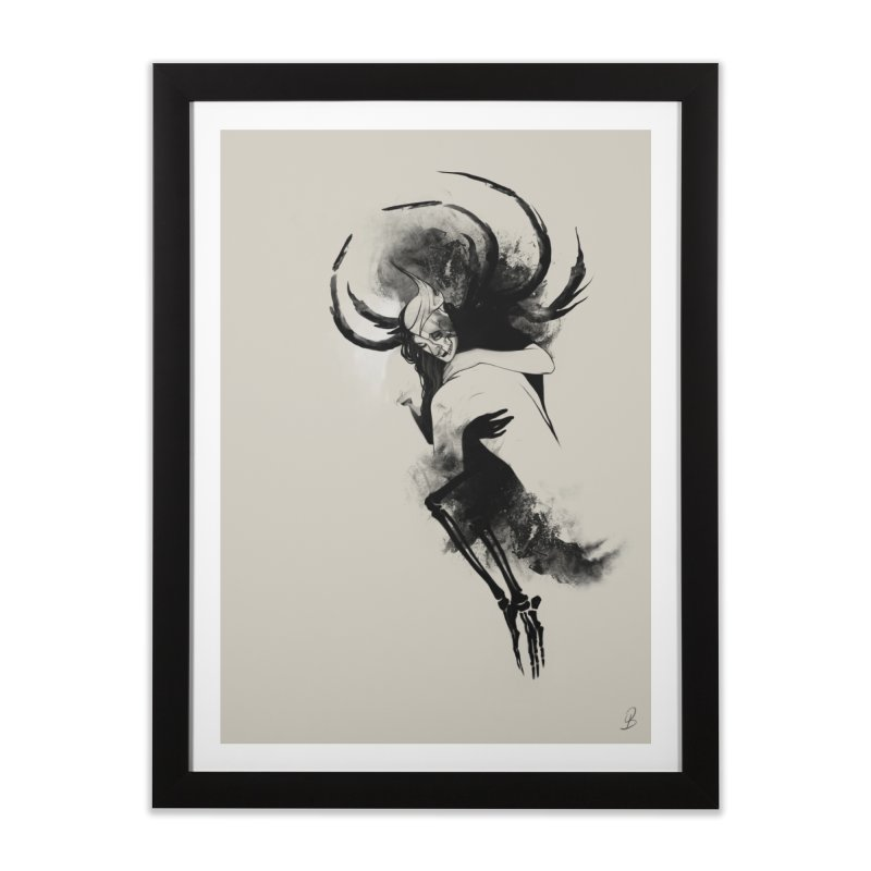 Hel Home Framed Fine Art Print by Sash-kash Artist Shop