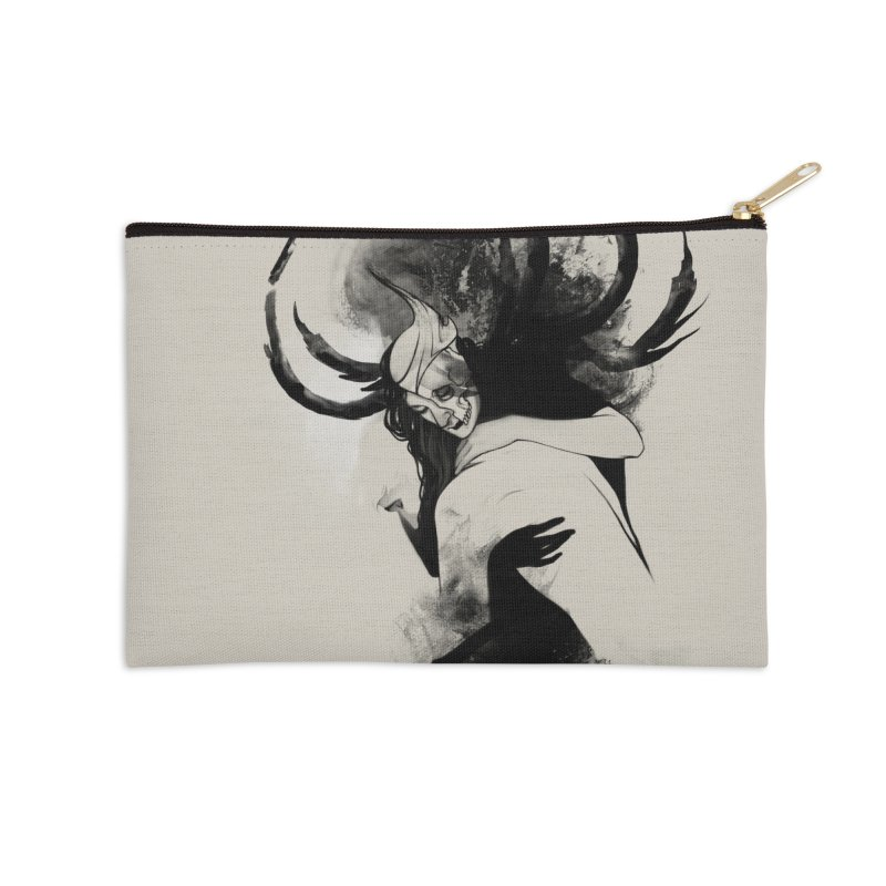 Hel Accessories Zip Pouch by Sash-kash Artist Shop