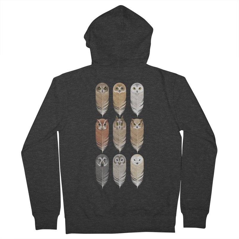 You're a Hoot Men's French Terry Zip-Up Hoody by Sash-kash Artist Shop