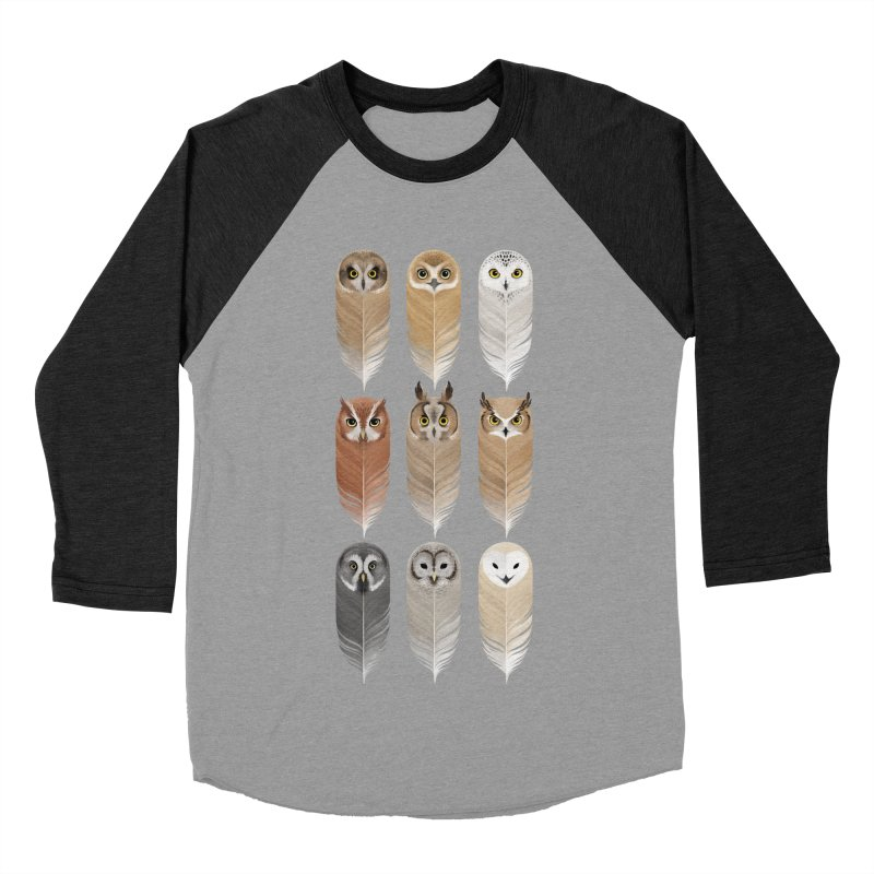 You're a Hoot Men's Baseball Triblend Longsleeve T-Shirt by Sash-kash Artist Shop