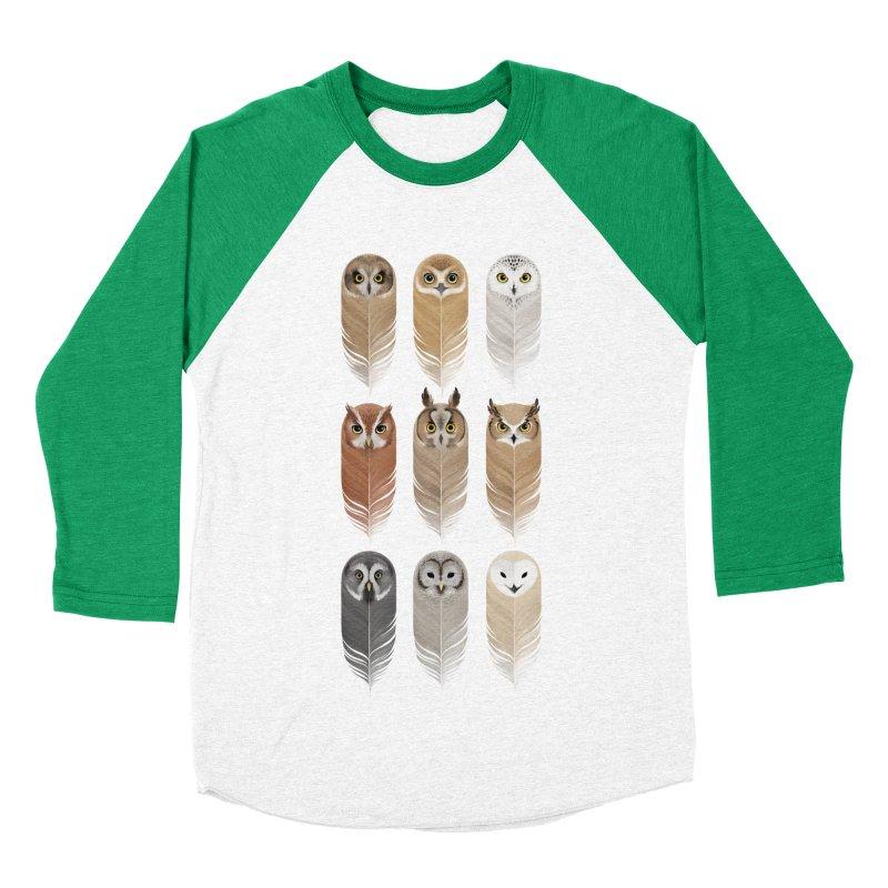You're a Hoot Men's Baseball Triblend T-Shirt by Sash-kash Artist Shop