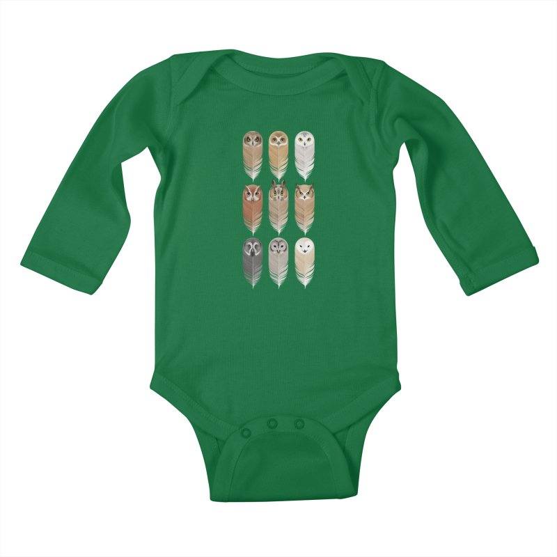 You're a Hoot Kids Baby Longsleeve Bodysuit by Sash-kash Artist Shop