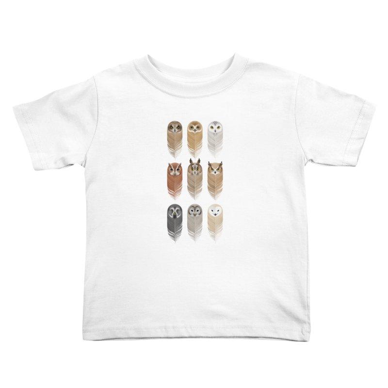 You're a Hoot Kids Toddler T-Shirt by Sash-kash Artist Shop