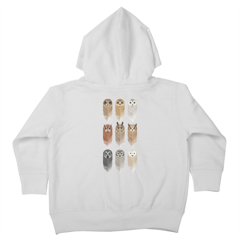 You're a Hoot Kids Toddler Zip-Up Hoody by Sash-kash Artist Shop
