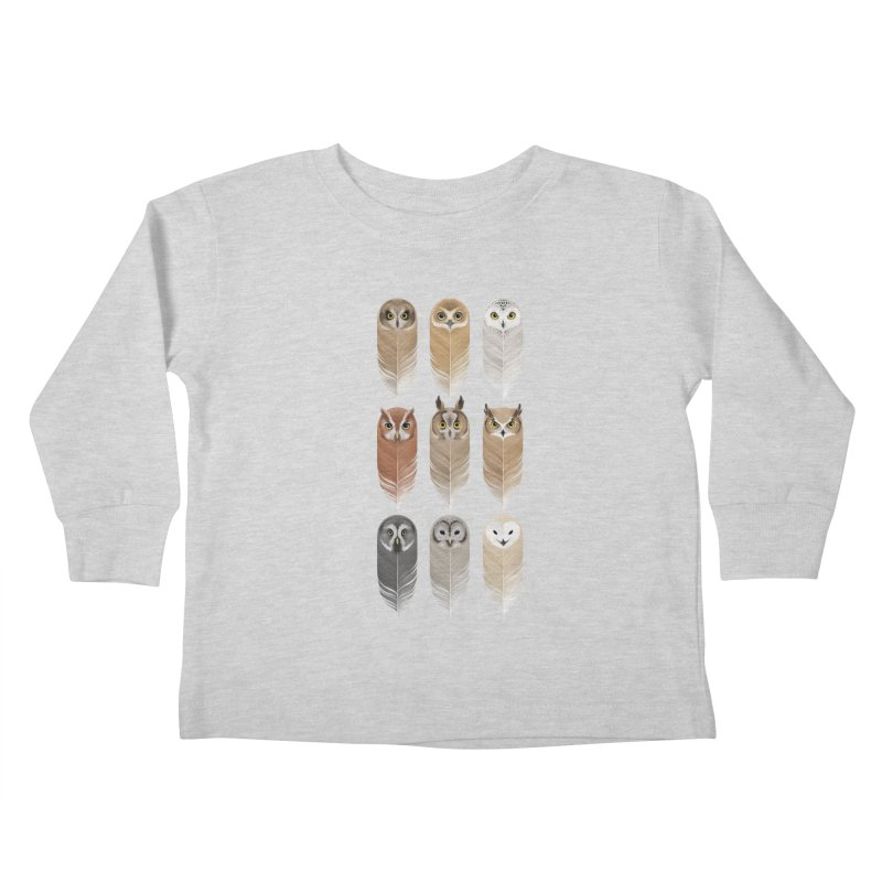 You're a Hoot Kids Toddler Longsleeve T-Shirt by Sash-kash Artist Shop