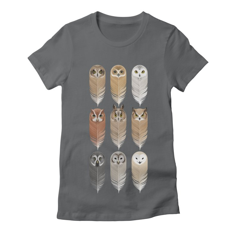 You're a Hoot Women's Fitted T-Shirt by Sash-kash Artist Shop