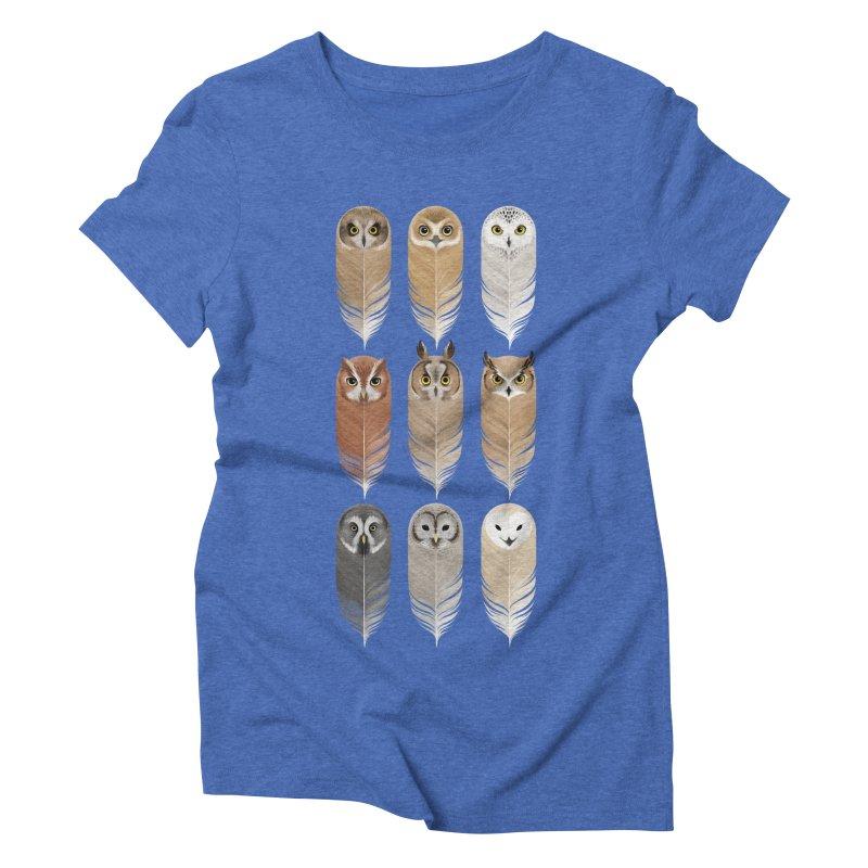 You're a Hoot Women's Triblend T-Shirt by Sash-kash Artist Shop