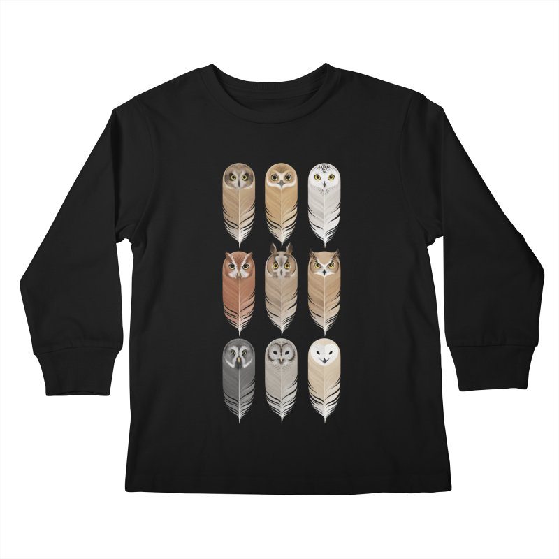 You're a Hoot Kids Longsleeve T-Shirt by Sash-kash Artist Shop