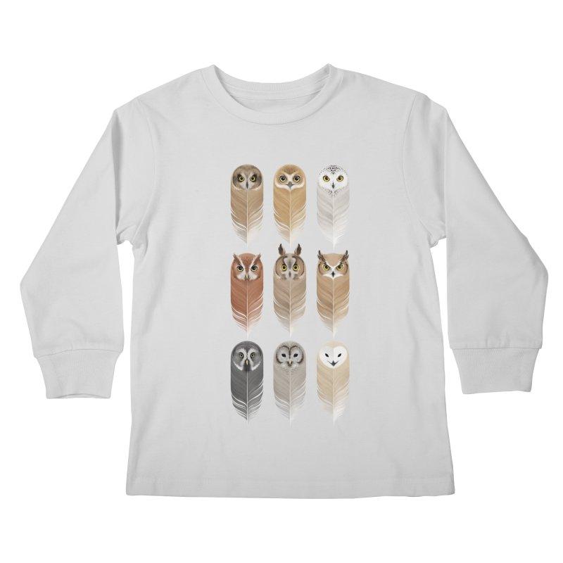 You're a Hoot Kids Longsleeve T-Shirt by Sash-kash Artist Shop