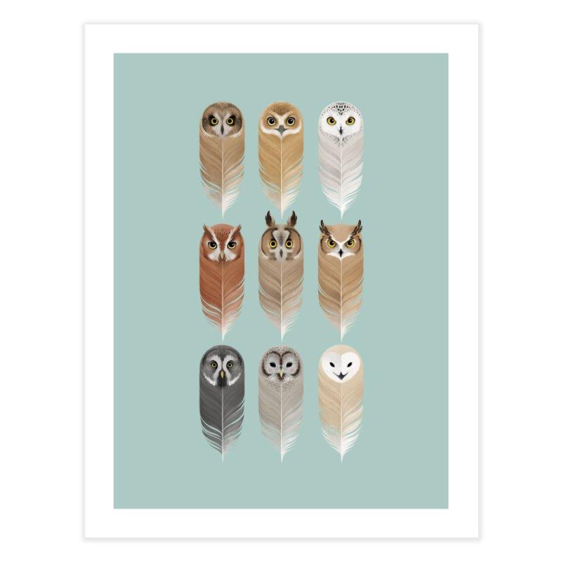 You're a Hoot Home Fine Art Print by Sash-kash Artist Shop