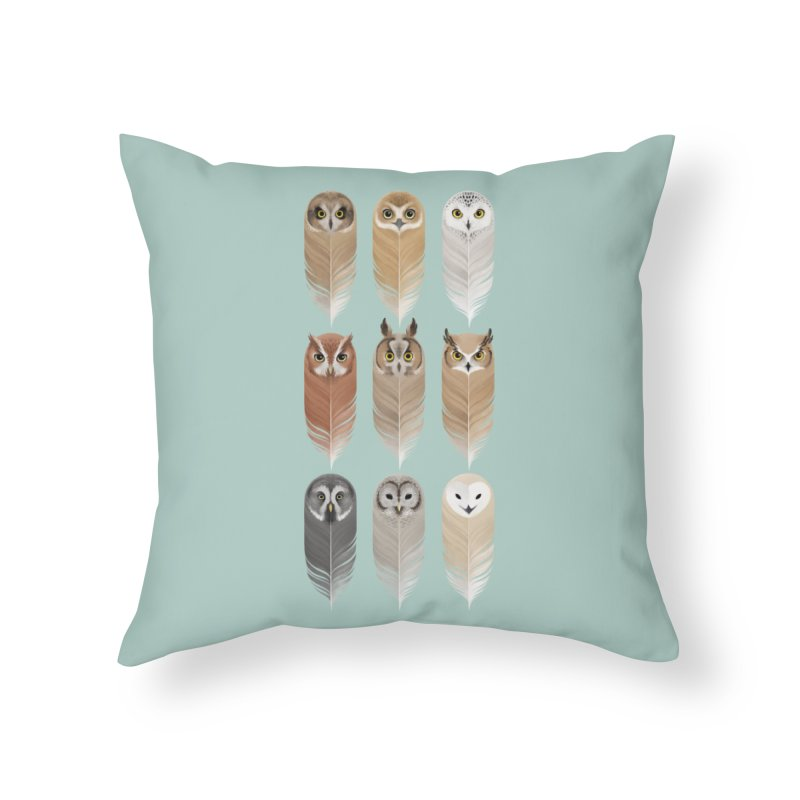 You're a Hoot Home Throw Pillow by Sash-kash Artist Shop