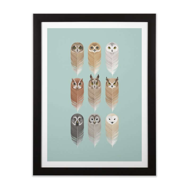 You're a Hoot Home Framed Fine Art Print by Sash-kash Artist Shop