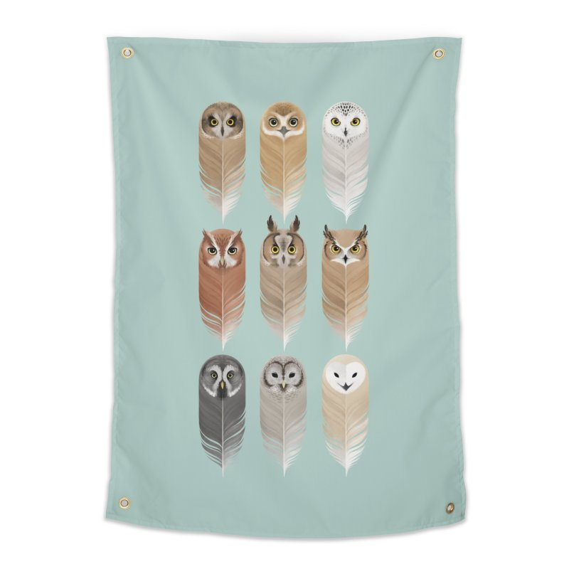 You're a Hoot Home Tapestry by Sash-kash Artist Shop