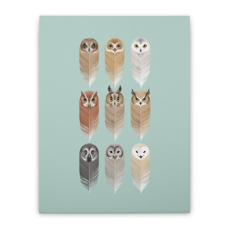 You're a Hoot Home Stretched Canvas by Sash-kash Artist Shop
