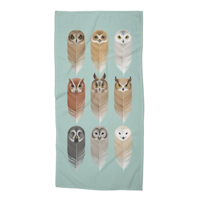 You're a Hoot Accessories Beach Towel by Sash-kash Artist Shop