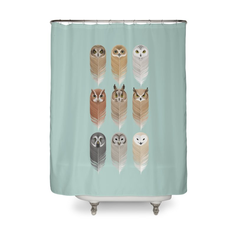 You're a Hoot Home Shower Curtain by Sash-kash Artist Shop