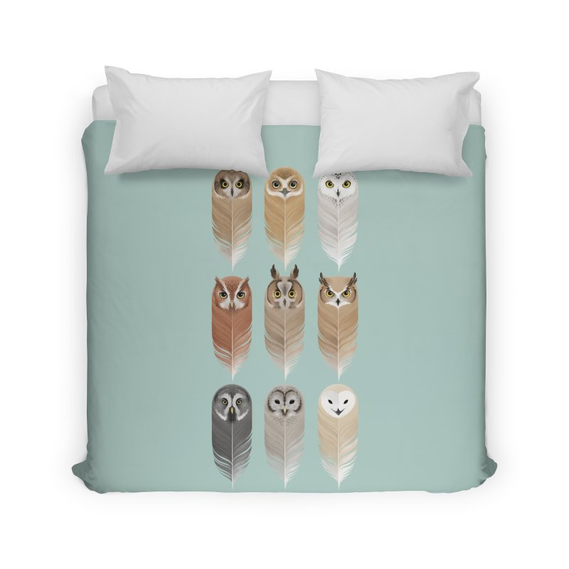 You're a Hoot Home Duvet by Sash-kash Artist Shop