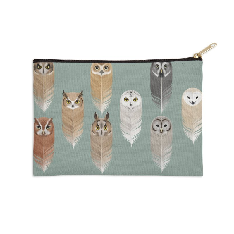 You're a Hoot Accessories Zip Pouch by Sash-kash Artist Shop