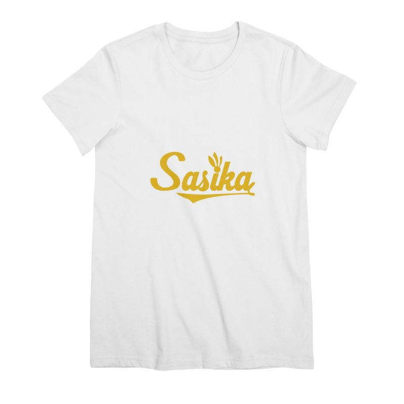 Sasika Design Original Women's Premium T-Shirt by Sasika Design Artist Shop